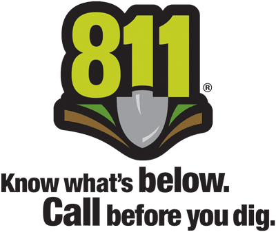 811 - Know what's below - Call before you dig